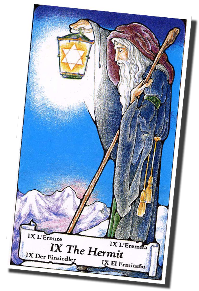 Major Arcana 09 The Hermit