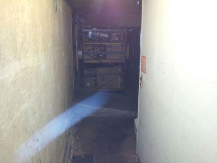 a streak of light in the basement picked up by cameras at Lynn Ryder's bar
