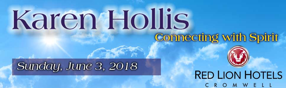 Karen Hollis Connecting with Spirit, a Mediumship Event
