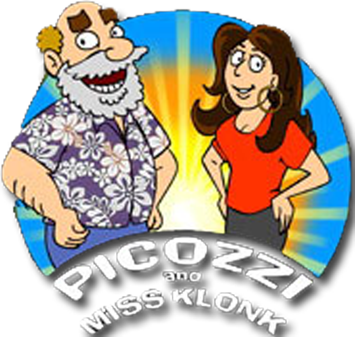 Picozzi and Miss Klonk radio show on WCCC-FM, Hartford, CT